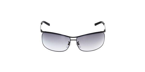 Pánske čierne kovové slnečné okuliare Fila
