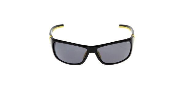 Slnečné okuliare v žlto-čiernom prevedení Fila