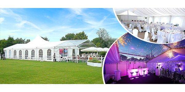 Dokonalá svadba alebo party pod stanom