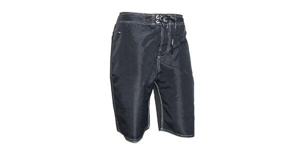 Pánske antracitové plavky Exe Jeans