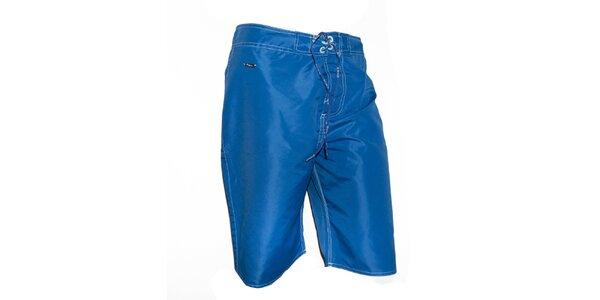 Pánske tmavo modré plavky Exe Jeans