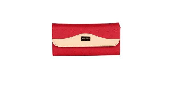 Dámska červená listová kabelka Verde Porte
