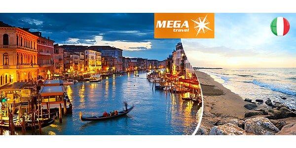 Benátky a leňošenie na pláži
