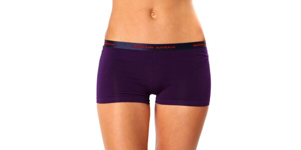 Dámske fialové nohavičkové nohavičky Mosmann