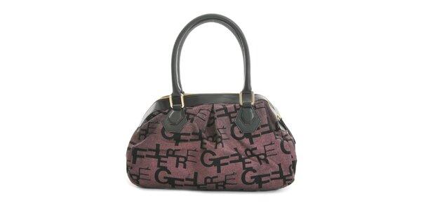 Dámska látková kabelka s písmenkami Gianfranco Ferré