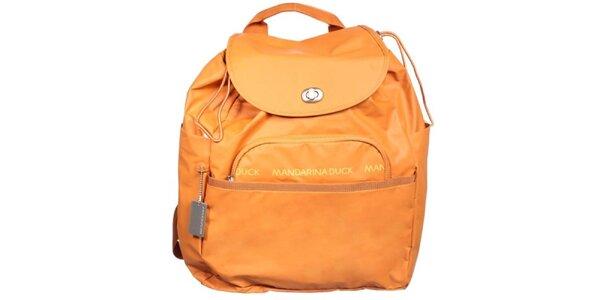 Dámsky oranžový batoh Mandarina Duck
