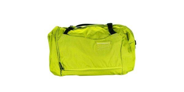 Zelená športová taška Mandarina Duck
