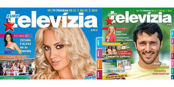 Predplatné týždenníka Eurotelevízia