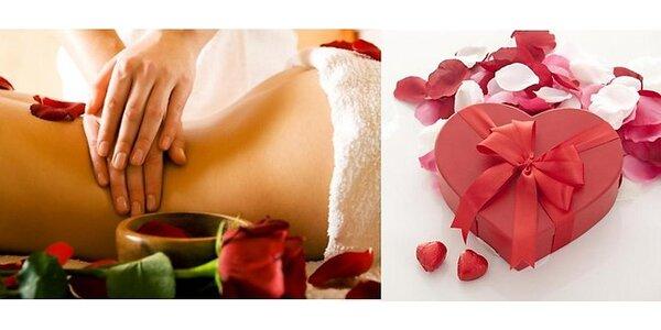 Celotelová alebo relaxačná masáž s rašelinovým zábalom