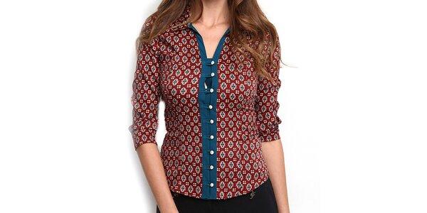 Dámska košeľa so vzorom Fusion