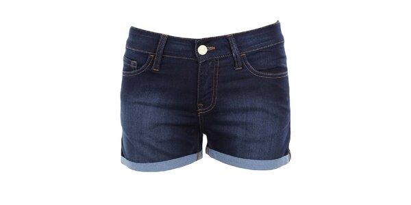 Dámske tmavo modré džínsové šortky MET