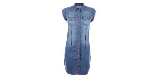 Dámske džínsové šaty Met