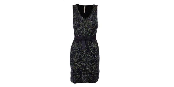 Dámske šaty s flitrami MET