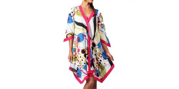 Dámska farebná šatková tunika Aller Simplement