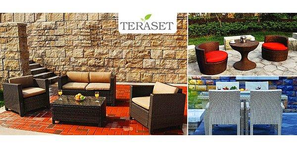Ratanový záhradný nábytok značky TERASET