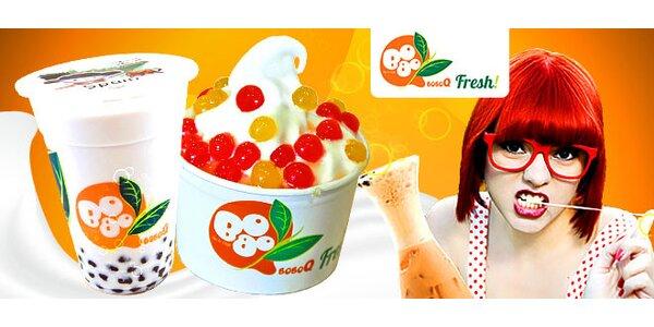 Osvieženie s bubličajom a mrazeným jogurtom