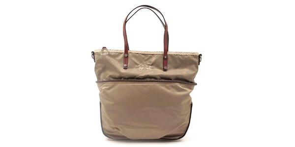 Dámska kabelka s ozdobným lemom La Martina