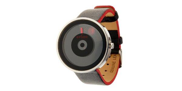 Dámske čierne digitálne hodinky Axcent