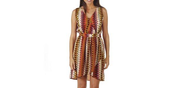 Dámske šaty s aztéckym vzorom Ada Gatti