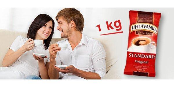Až jeden kilogram poctivej kávy Jihlavanka