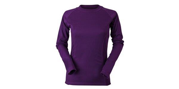 Dámske fialové termo tričko Goritz