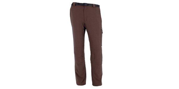 Pánske hnedé vodoodpudivé nohavice Goritz