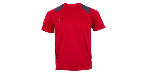 Pánske červené technické tričko Goritz