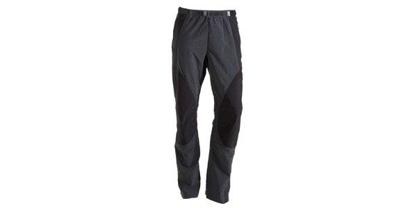 Pánske šedo-čierne nohavice Goritz