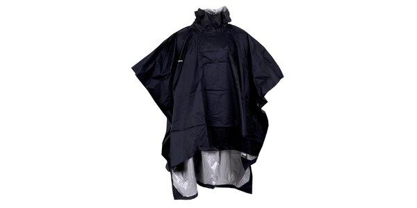 Pánska čierna pláštenka - pončo Goritz
