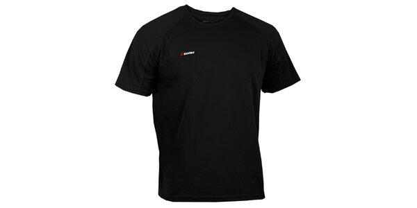 Pánske čierne technické tričko Goritz