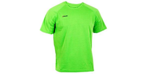 Pánske žiarivo zelené technické tričko Goritz
