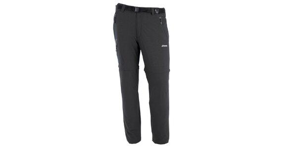 Pánske šedé nohavice s odnímateľnými nohavicami Goritz