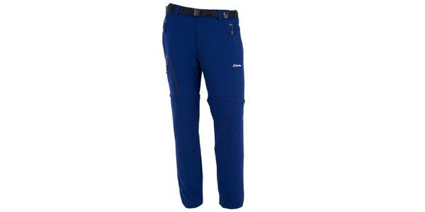 Pánske tmavo modré nohavice s odnímateľnými nohavicami Goritz