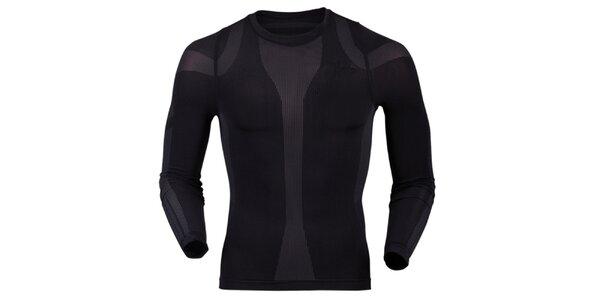 Pánske termo tričko v čiernej farbe Goritz