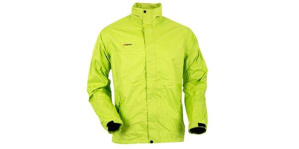 Pánska svetlo zelená bunda do dažďa Goritz