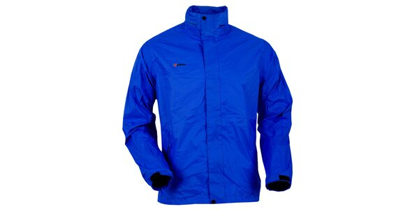 Pánska tmavo modrá bunda do dažďa Goritz