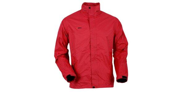 Pánska červená bunda do dažďa Goritz