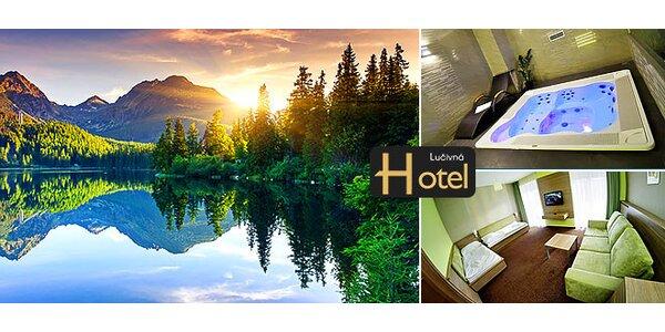 Pobyt pod Vysokými Tatrami vo wellness hoteli Lučivná***