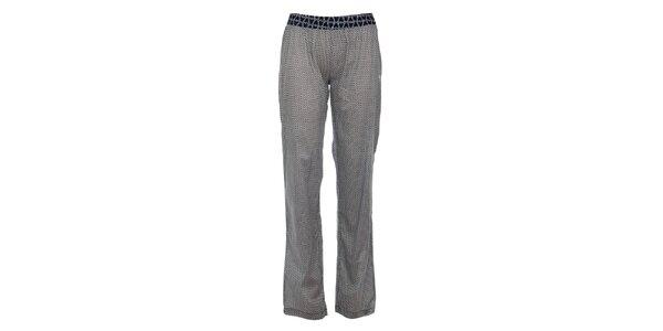 Dámske tmavo modré pyžamové nohavice Tom Tailor