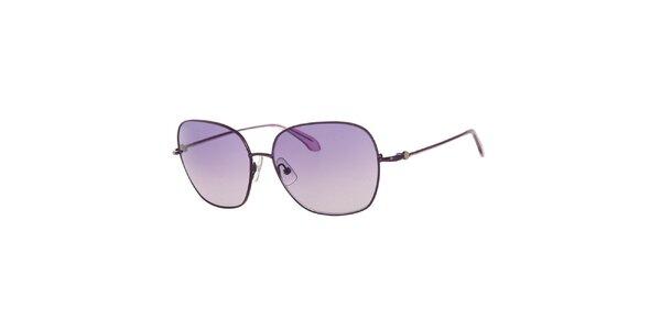 Dámske slnečné okuliare s fialovými šošovkami Calvin Klein