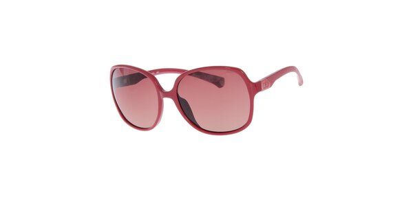 Dámske červené slnečné okuliare Calvin Klein Jeans