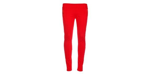 Dámske červené nohavice Holly Kate