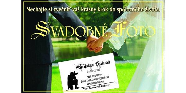 Profesionálne svadobné fotenie AKCIA balíčka Svadba MAXI