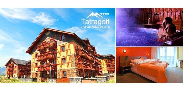 Leto v 4* apartmánoch vo Vysokých Tatrách