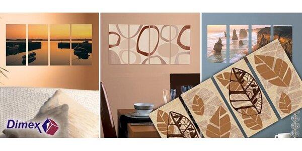 6 Eur za samolepiace dekorácie na stenu Vášho domu či bytu so zľavou 50%!