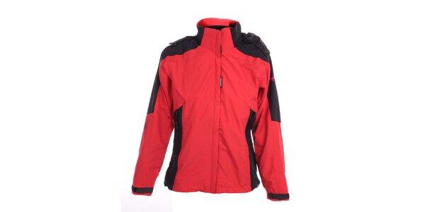 Dámska červeno-čierna funkčná bunda Hannah