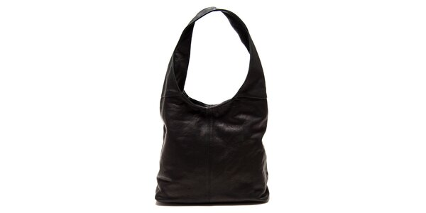 Dámska čierna kabelka s jedným uchom Roberta Minelli
