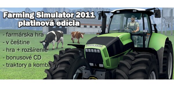 PC hra Farming Simulator 2011 (Platinová edícia)
