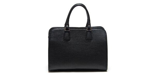 Dámska čierna kabelka s odnímateľným popruhom Roberta Minelli