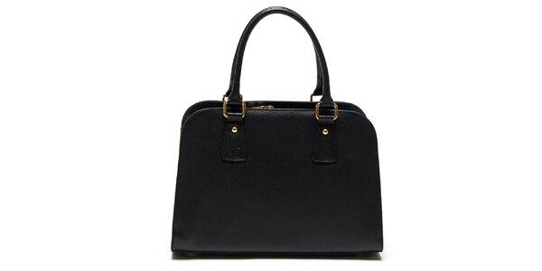 Dámska čierna kabelka s dvomi ušami Roberta Minelli
